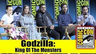 GODZILLA: KING OF THE MONSTERS | Comic Con 2018 Full Panel (Millie Bobby Brown, Vera Farmiga)