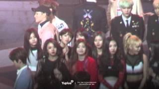 160121 TWICE 골든디스크 오프닝-엔딩 정연 fancam