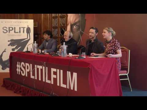 Split: conferenza stampa con M. Night Shyamalan, James McAvoy ed Anya Taylor-Joy
