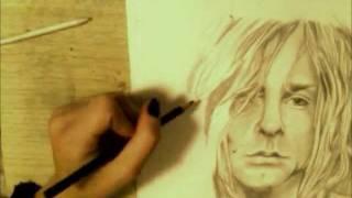 Kurt Cobain Speed Drawing