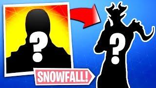 Snowfall Skin LEAKED - Fortnite Snowfall Skin Reveal! (Secret Skin)