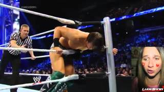 WWE Smackdown 2/14/14 The Miz vs Fandango Live