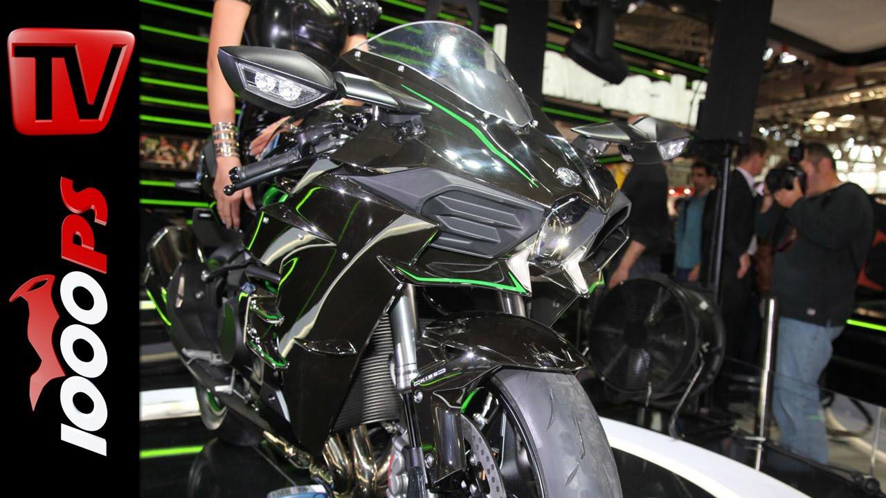 Kawasaki Ninja H2r >> Kawasaki Ninja H2 2015 Road Version | Price, Specs ...