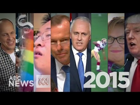 Year in Review: 2015 as seen on ABC News 24