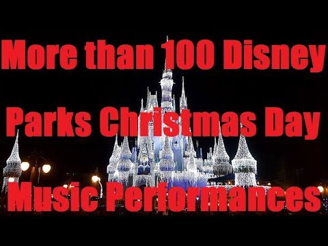 christmas music walt disney parks christmas day parade playlist songs - Disney Christmas Music