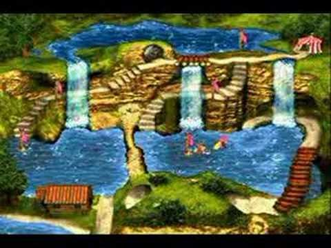 Donkey Kong Country 3 *SNES* Map - YouTube