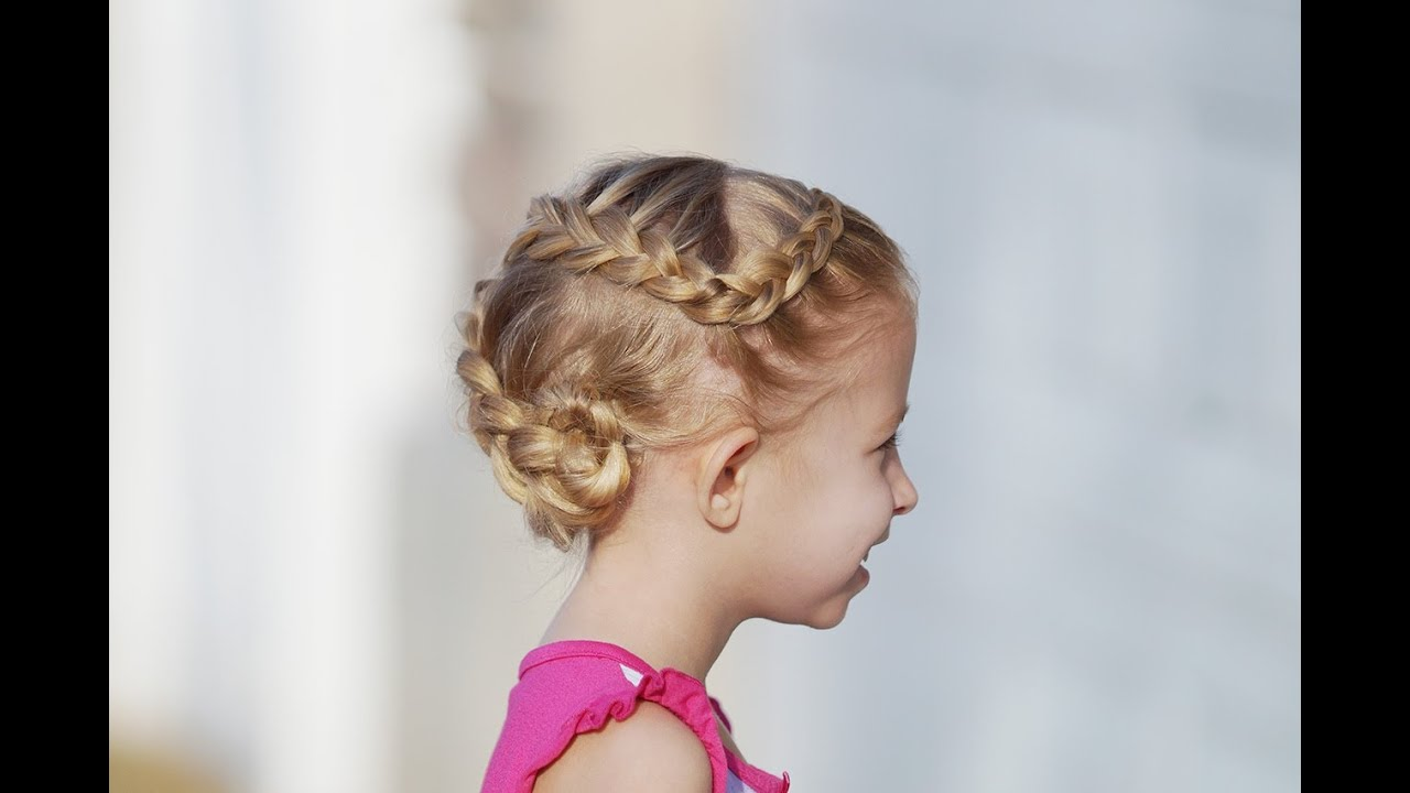 Curve Dutch Braid // Cute Girls Hairstyles - YouTube