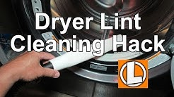 Vacuum Dryer Lint Hack