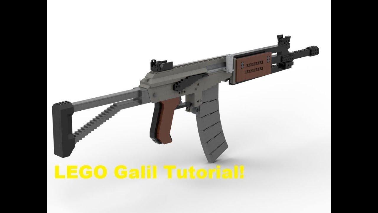 LEGO Galil Tutorial! | Jim's LEGO Guns