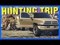 HUNTING TRIP GOES WRONG!! - GTA 5 Mod Showcases