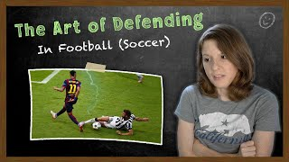 American Reacts to The Art of Defending Football Soccer