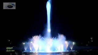 """""""На поле танки грохотали"""". С.Чиграков. (Release)/поющий фонтан/Сочи/ Олимпийский парк"""