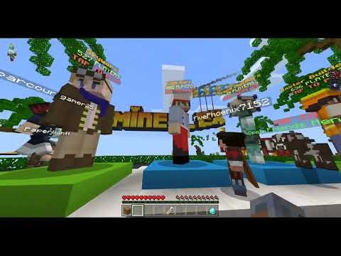 Minecraft Bedrock Playing Mineplex With Viewers Youtube