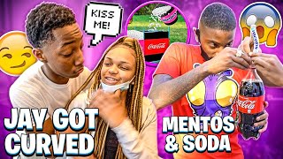 JAY TRIED TO KISS HIS GIRLFRIEND AND SHE CURVED HIM!! 💔  (THEY BROKE UP)