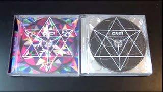 Unboxing 2NE1 투애니원 2nd Korean Studio Album CRUSH (Pink & Black Edition)