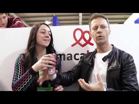 Rocco Siffredi - MacaLove Energy Drink intervista a TuttoFood 2017 - Maca Love