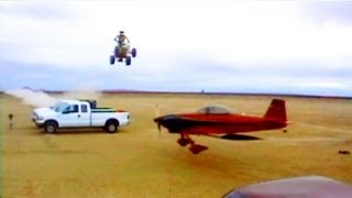 Quad Jump over Flying Airplane - Matt Coulter and Troy Hartman