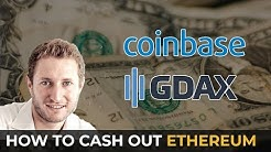 Converting 6 Ethereum to Euros! How to Cash out  on GDAX!
