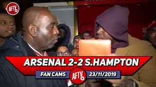 Arsenal 2-2 Southampton | Fan Loses It & Throws Away His Season Ticket! (Rant)