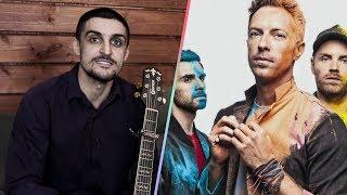 Coldplay - «Fix you». Урок на гитаре, разбор, видеоурок, кавер, аккорды, бой, перебор.