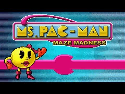 Ms. Pac-Man: Maze Madness (Gameboy Advance Version)