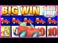 🚗 SUPER BIG WIN on ROAD TRIP + WILDS pay 6X❗