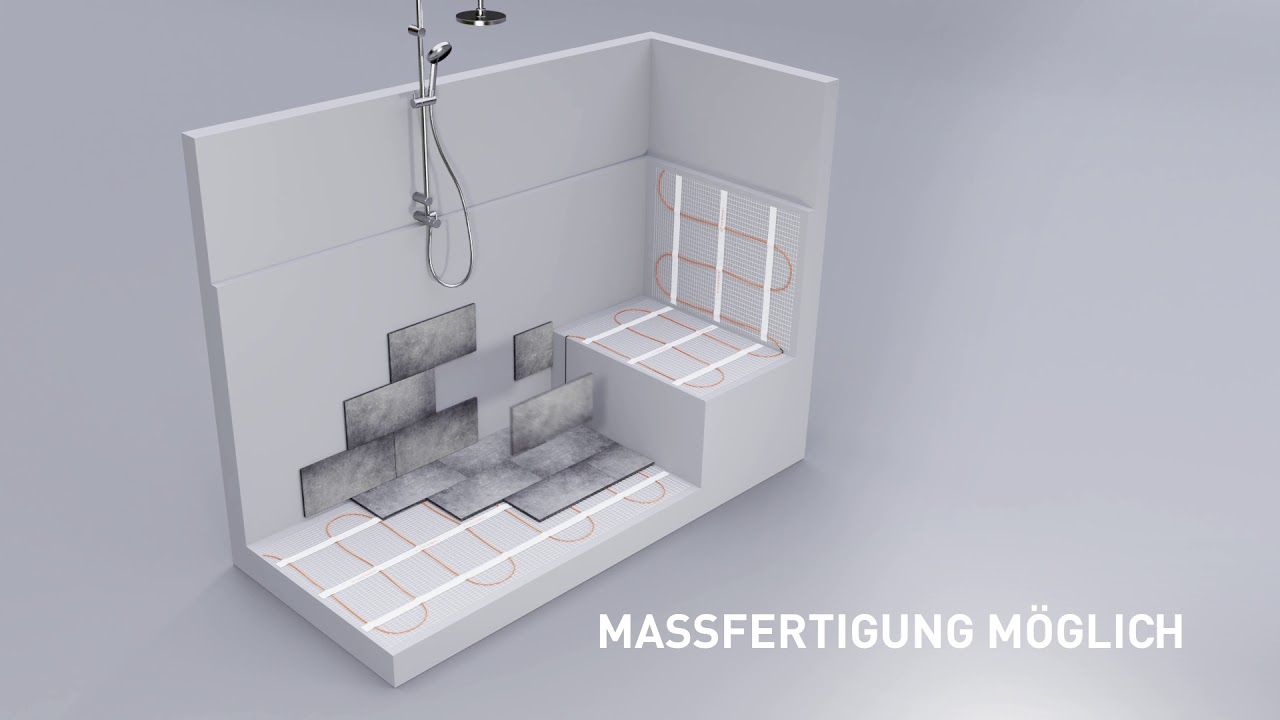 Super Fußbodenheizung, elektrische Fußbodenheizung, Parketheizung OL47
