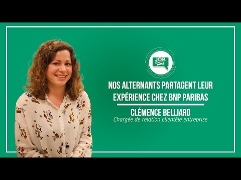 Job Talks du 28 mars : Clémence, Chargée de Relation Clientèle Entreprise