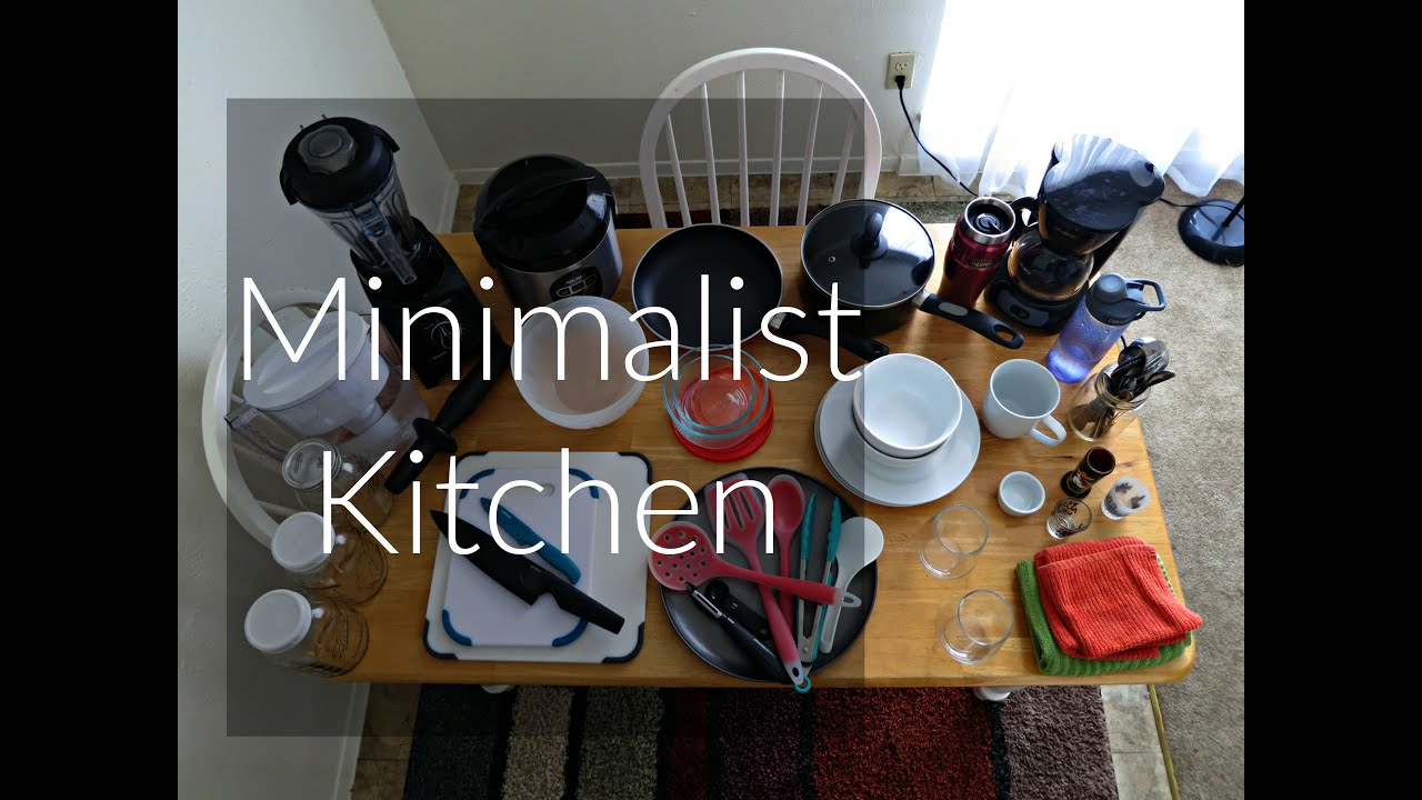 Kitchen tour youtube for Extreme minimalist living