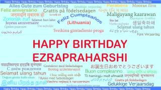 Ezrapraharshi   Languages Idiomas - Happy Birthday