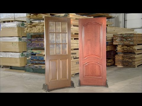 Stile And Rail Doors | How It's Made