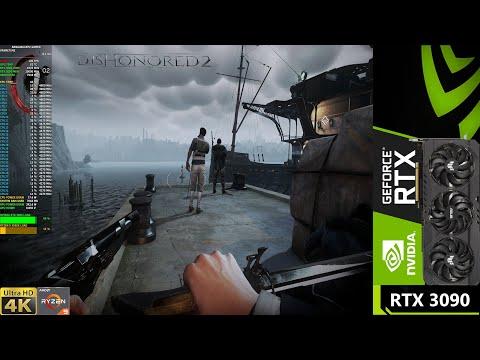 Dishonored 2 Max Settings 4K | RTX 3090 | Ryzen 3950X OC