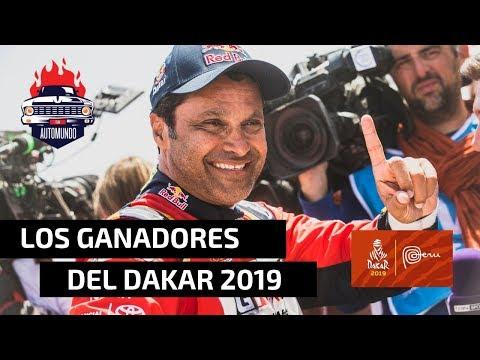 🏆 DAKAR 2019: ¡ACÁ ESTÁN LOS GANADORES! 🏁