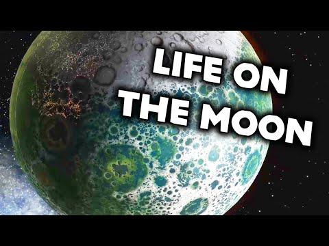 ALIENS ON THE MOON in Universe Sandbox |