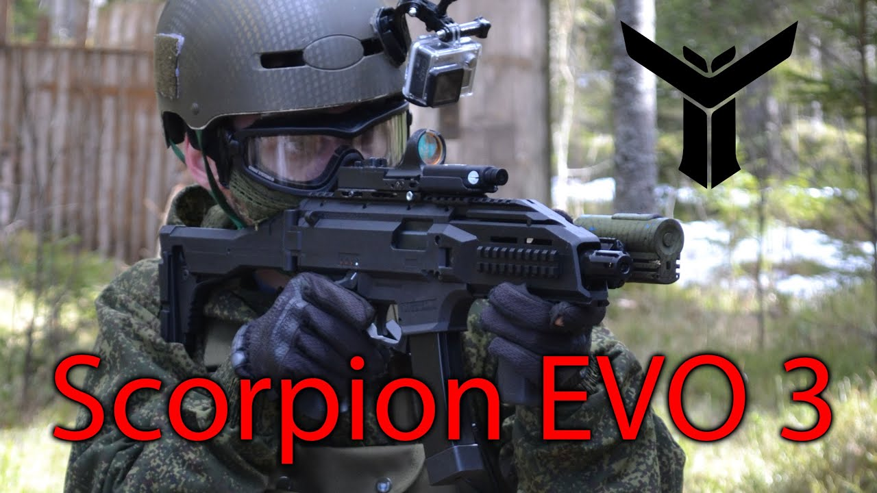 Asg Cz Scorpion Evo 3 Commentary Gameplay Youtube