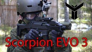 asg cz scorpion evo 3 commentary gameplay