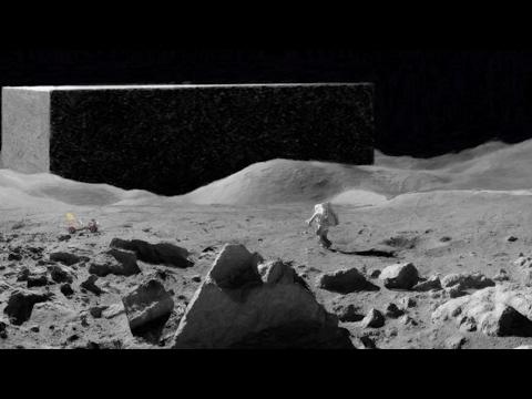 Alien Moon Structures - Apollo 17