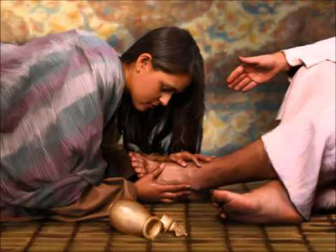 Image result for picture of woman washing jesus feet