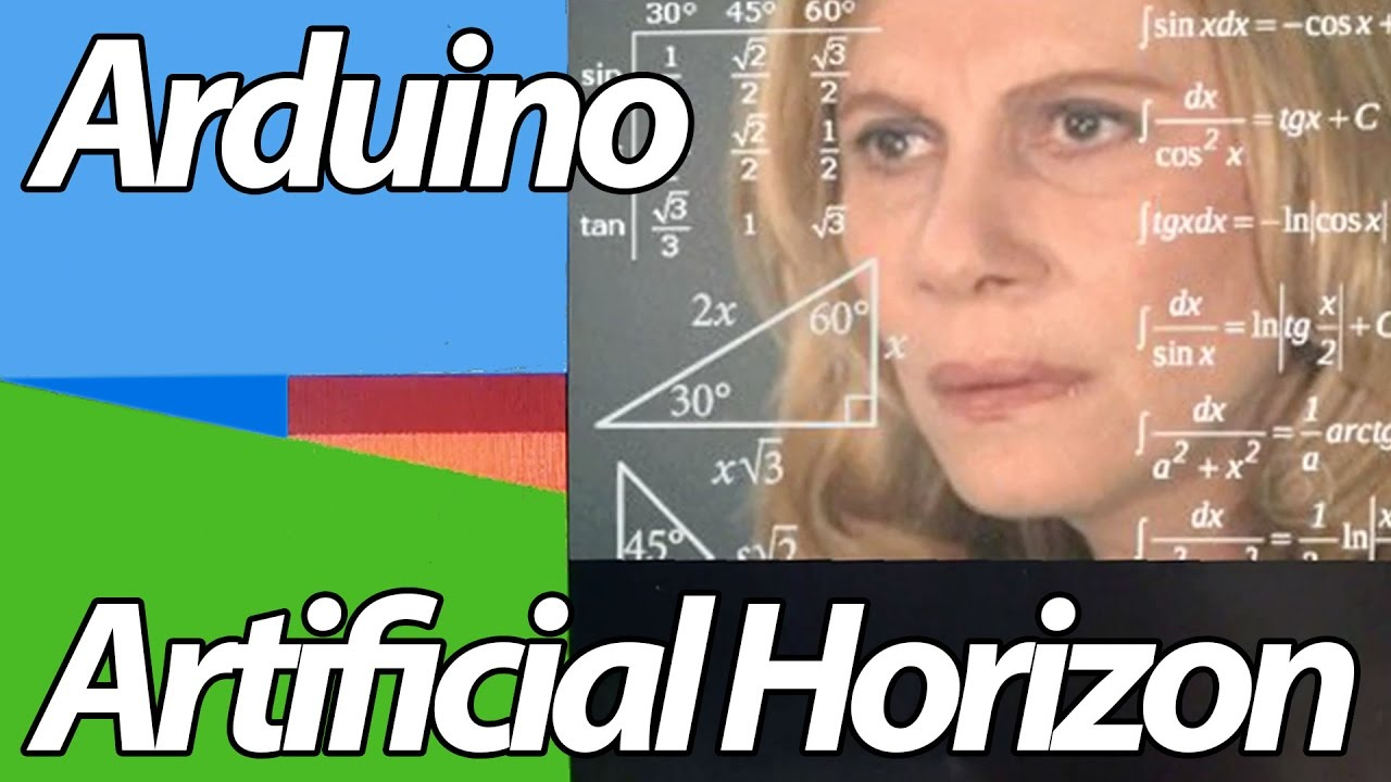 Arduino quot lcd artificial horizon youtube