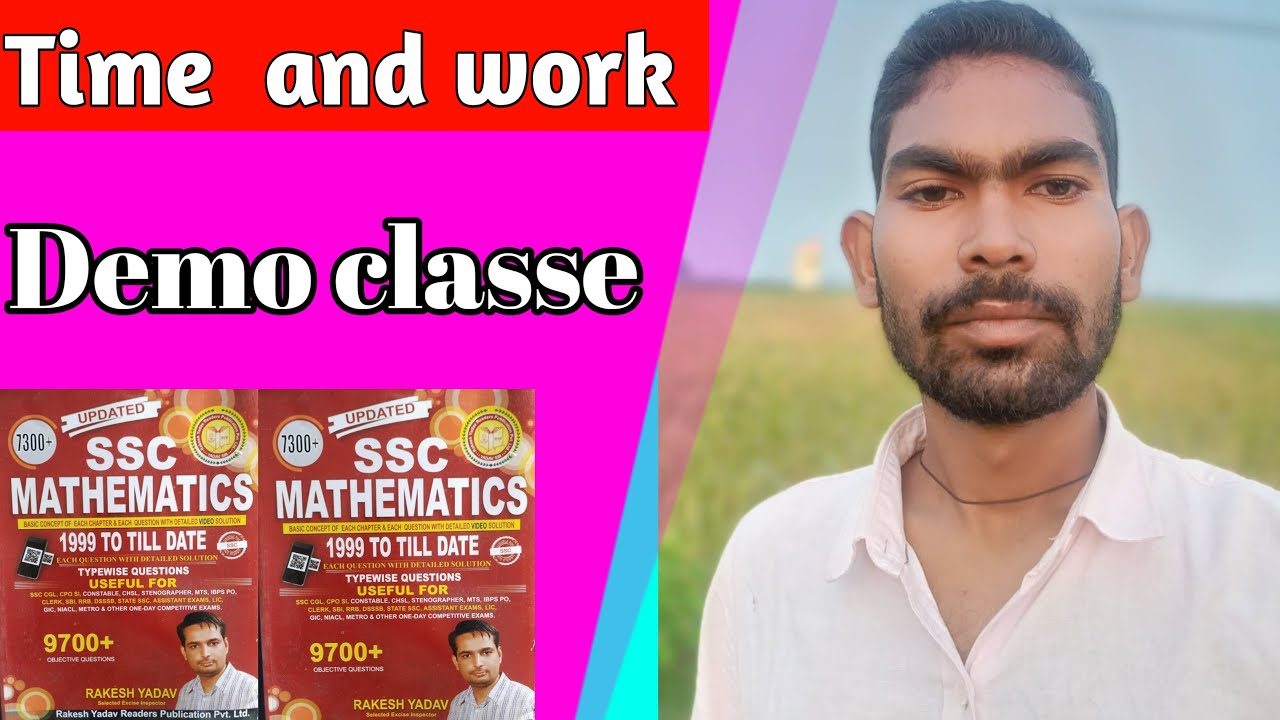 Download Rakesh Yadav Book Solutions   time and work part-1   time and work short tricks  by Bihari Educator