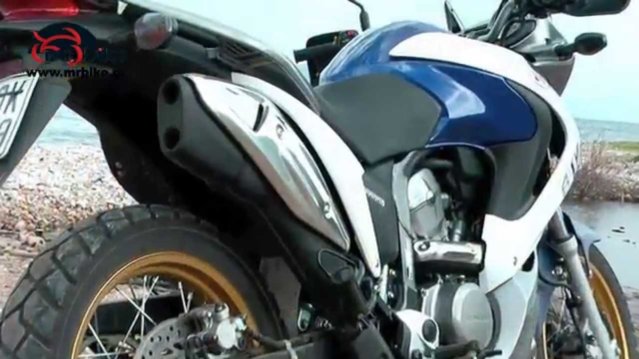 Honda Xl 700v Transalp On Board Test Video 100000 Views Youtube