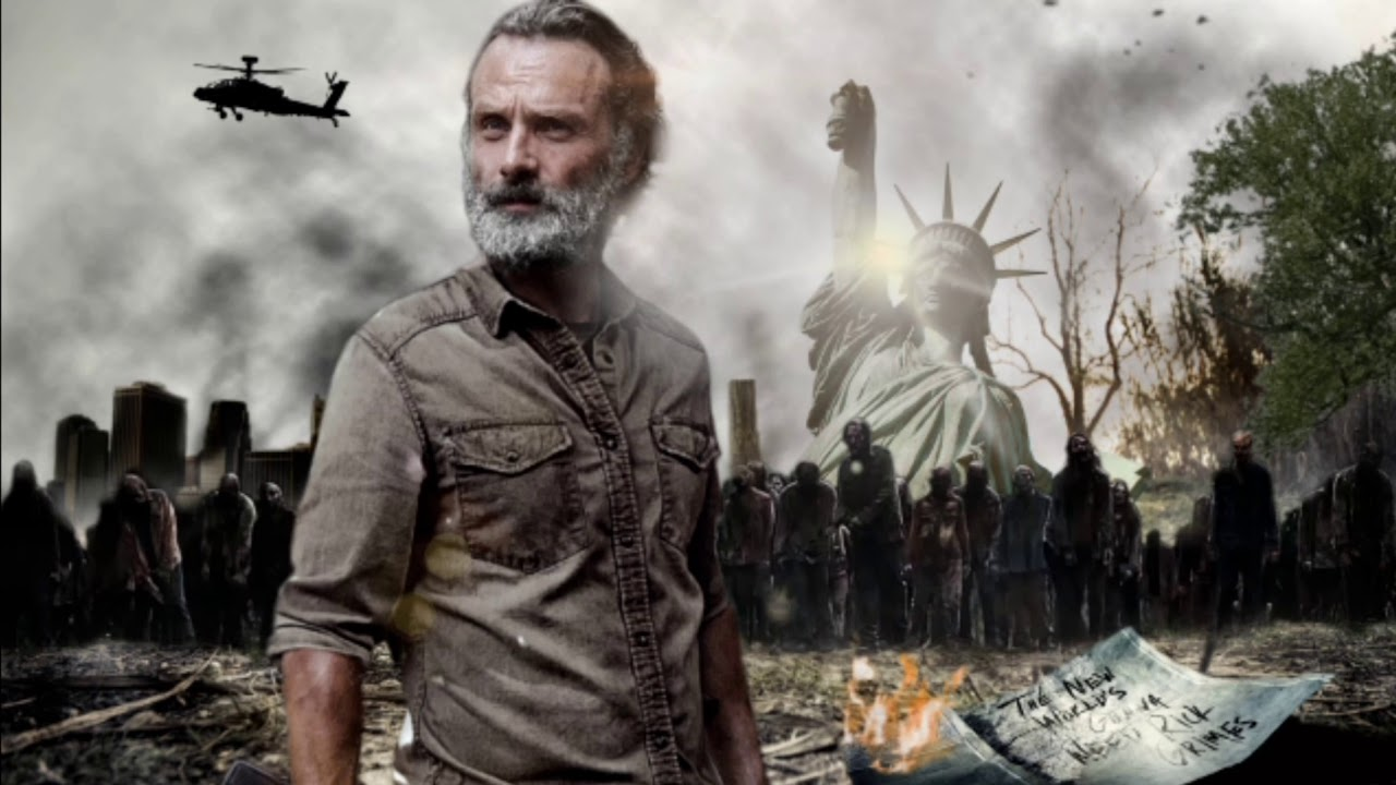 Rick Grimes Movie Trilogy Wallpaper Edit Youtube