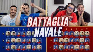 BATTAGLIA NAVALE con i MONDIALI 2018! INDOVINA IL CALCIATORE CHALLENGE w/FIUS GAMER, TONY TUBO, TATI