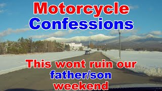 Vlog | Father/Son weekend | No Camping Camping Trip | Vermont and New Hampshire
