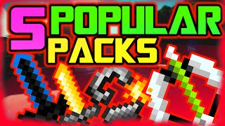 Top 5 Popular Minecraft Resource/Texture Packs 2016 (Huahwi, Grapeapplesauce, Solrflare, ETC. )