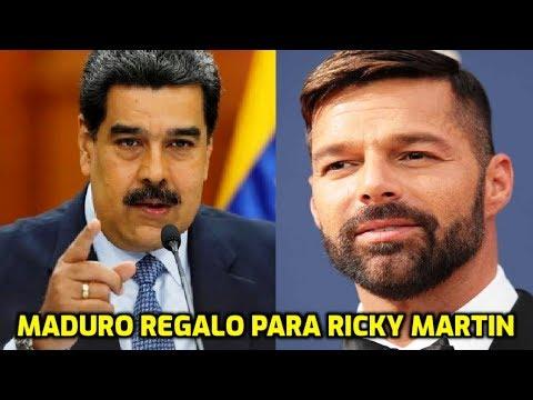 REVELADA LA AGENDA OCULTA de Nicolás Maduro y Ricky Martin en Venezuela