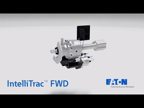 IntelliTrac™ electronic limited slip differential FWD