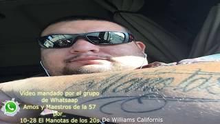 10-28 El Manotas desde Williams California