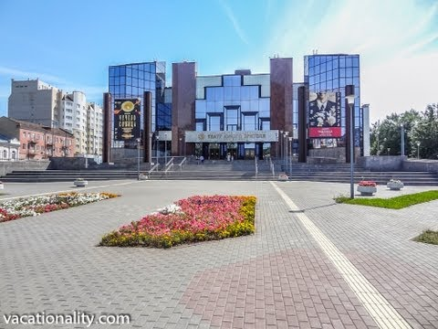 Russia. First Theater for Children in the World was Founded in Saratov.