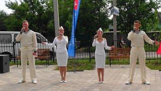 Концерт бригады ансамбля песни и пляски ЧФ РФ \